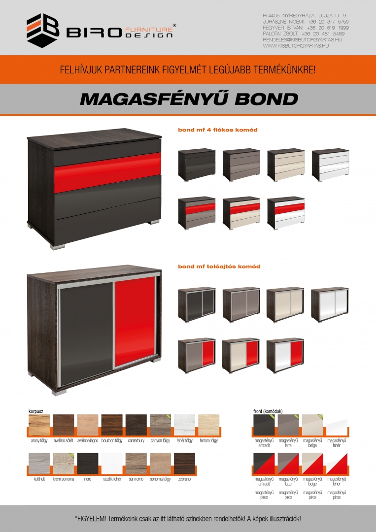 Bond (magasfényű)